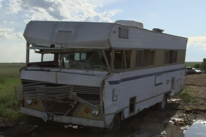 Toxic FEMA Trailers are Being Sold As Scrap