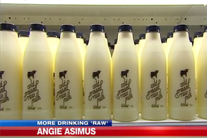 Consumers Reminded of the Dangers of Drinking Raw Milk
