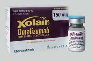 FDA: Research Reveals Adverse Xolair Cardiovascular (Heart) and Cerebrovascular (Brain) Events