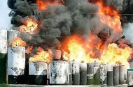 Barton Solvent's Plant Explosion Tanks Never Inspected for Fire Hazards