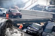 Minneapolis Bridge Collapse Leaves Seven Dead, Many Missing