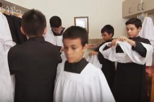 Priest Molesting Altar Boy