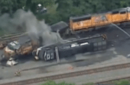Minnesota Train Derailment Causes Hydrochloric Acid Leak Results in Evacuation of 400 People
