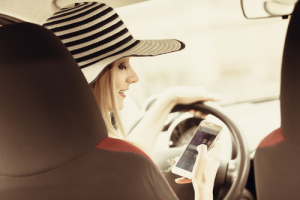 Distracted Driving From Phones