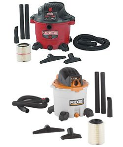 Sears Craftsman and Emerson Rigid Wet Dry Vac Lawsuits
