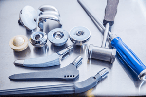 Claims against DePuy for defective hip replacement implants