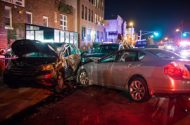 One Person Arrested, Six Injured in 8-vehicle Collision on LIE
