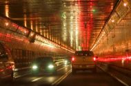 Morning Crash Leads to Delays in the Lincoln Tunnel on Staten Island, New York