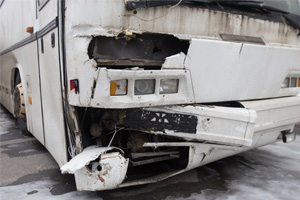 Three People Injured in a School Bus Accident in Westchester, New York