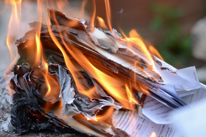 Destroying Diocese Documents