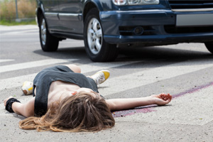 Fatally Struck by Vehicle