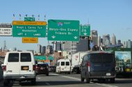 Fiery Collision on BQE Injures One