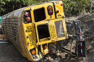 Three School Buses Involved in Crashes in Queens, Injuring 5