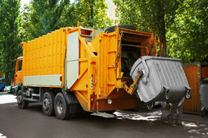 Garbage-Truck Accident