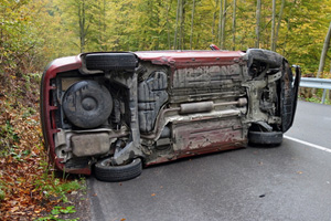 Injured in Rollover Collision