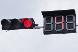 NYC Law - Countdown Clocks at Intersections with Red Light Cameras
