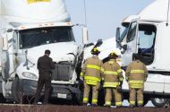 Truckers Cited for Disobeying Driving Ban Leading to Multi-Car Accident