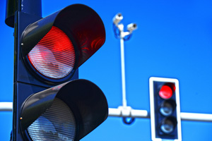 Red light runner accident in bradenton, florida