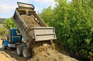 Axel Failure on Dump Truck Causes Serious Accident
