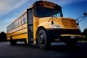 School bus hits child in jackson heights