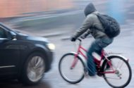 Bicycle Rider Critical After Accident