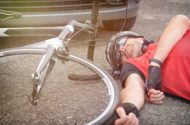 Bicycle Rider Seriously Injured in a Head-on Collision