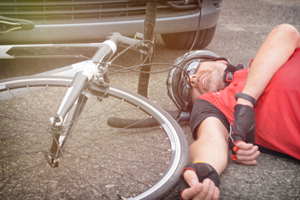 Bicycle Rider Seriously Injured in a Head-on Collision in East Hampton, New York