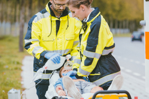 Child Badly Injured When Hit by a Car Was Airlifted from Scene