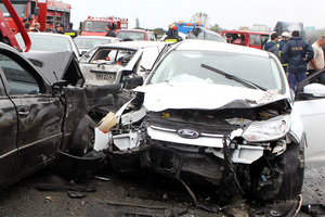 Multi-Vehicle Accident on 54th Street and 4th Avenue in Brooklyn, New York