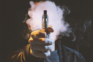 Vaping Linked to Cancer in Study