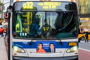MTA Buses Collide Injuring Ten in East Harlem, NY