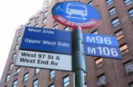 New York City Exploring Bus Stop Barriers