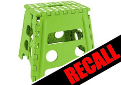 1.6 Million Step Stools Recalled for Fall Hazard