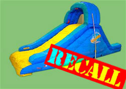 Banzai Inflatable Pool Slide Recalled After Death