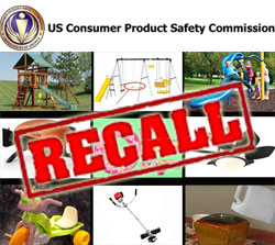 CPSC Urges Consumers to Check Homes for Recalled Recreational, Home Products