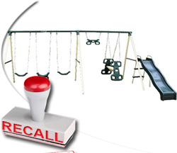 Flexible Flyer Swing Sets Recalled Following Injuries to Children