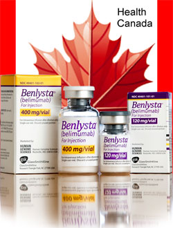 Health Canada Issues Warning for Benlysta Hypersensitivity and Infusion Reactions
