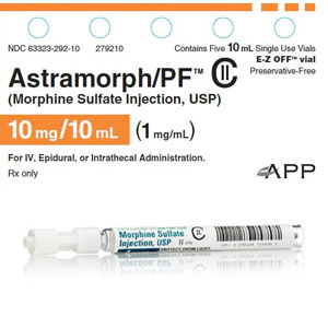 Hospira Recalls Morphine Injections, Syringes may be Over-Filled
