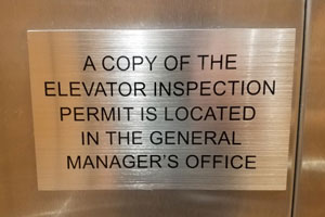 Alleged retaliation for looking into falsified elevator inspection records