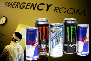 increase emergency room visits report cause for energy drink