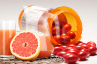 Grapefruit juice poses side effects risks with commonly prescribed drugs
