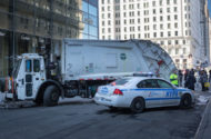 A Man from Long Island Injured When Hit by Sanitation Truck