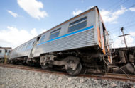 Long Island Railroad Work and Passengers Collide, Passengers and Workers Injured