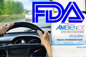 lower ambien dose for driving risk