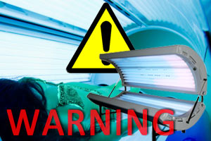 cancer risk of tanning machine
