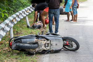 Motorcyclist critically injured in long island accident