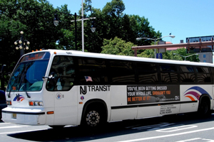 New Jersey transit bus involved in commuting accident in manhattan