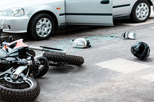 Drunk driver causes accident with motorcycle injuries