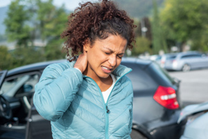 Car accident whiplash may cause permanent ringing in the ears (tinnitus)