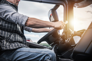 Driving a truck for a living is a dangerous occupation